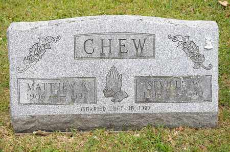 CHEW, MATTHEW K - Richland County, Ohio | MATTHEW K CHEW - Ohio Gravestone Photos
