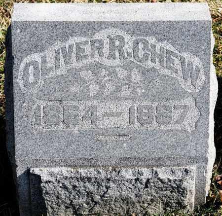 CHEW, OLIVER R - Richland County, Ohio   OLIVER R CHEW - Ohio Gravestone Photos