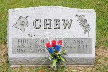 CHEW, PHILLIP H - Richland County, Ohio | PHILLIP H CHEW - Ohio Gravestone Photos