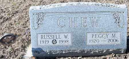 CHEW, RUSSELL W - Richland County, Ohio   RUSSELL W CHEW - Ohio Gravestone Photos