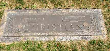 CHRISTIAN, RUSSELL M - Richland County, Ohio | RUSSELL M CHRISTIAN - Ohio Gravestone Photos