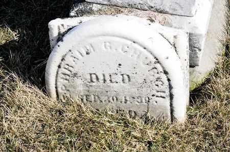 CHURCH, EPHRAIM G - Richland County, Ohio | EPHRAIM G CHURCH - Ohio Gravestone Photos