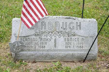 "CLABAUGH, BERNARD ""PINKY"" - Richland County, Ohio | BERNARD ""PINKY"" CLABAUGH - Ohio Gravestone Photos"