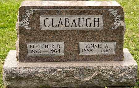 CLABAUGH, MINNIE A - Richland County, Ohio | MINNIE A CLABAUGH - Ohio Gravestone Photos
