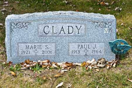 CLADY, MARIE S - Richland County, Ohio | MARIE S CLADY - Ohio Gravestone Photos