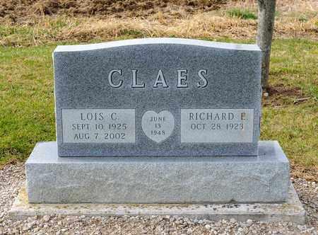 CLAES, LOIS C - Richland County, Ohio | LOIS C CLAES - Ohio Gravestone Photos