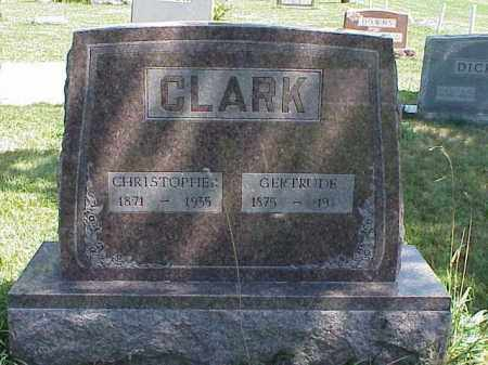 CLARK, GERTRUDE - Richland County, Ohio | GERTRUDE CLARK - Ohio Gravestone Photos