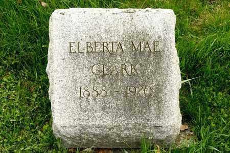 CLARK, ELBERTA MAE - Richland County, Ohio | ELBERTA MAE CLARK - Ohio Gravestone Photos