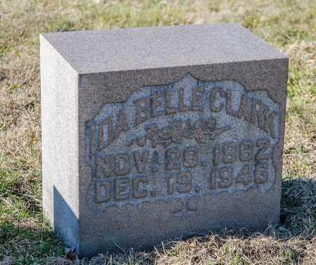 CLARK, IDA BELLE - Richland County, Ohio | IDA BELLE CLARK - Ohio Gravestone Photos