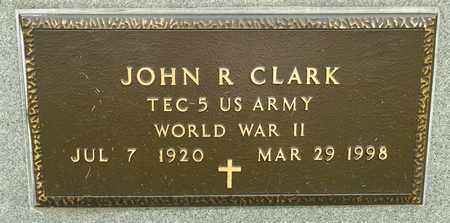 CLARK, JOHN R - Richland County, Ohio | JOHN R CLARK - Ohio Gravestone Photos