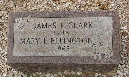 CLARK, JAMES E - Richland County, Ohio   JAMES E CLARK - Ohio Gravestone Photos