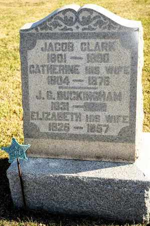 CLARK, CATHERINE - Richland County, Ohio | CATHERINE CLARK - Ohio Gravestone Photos