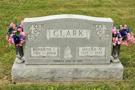 CLARK, MELBA V - Richland County, Ohio | MELBA V CLARK - Ohio Gravestone Photos
