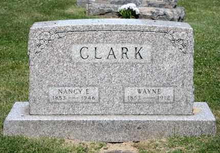 CLARK, NANCY E - Richland County, Ohio | NANCY E CLARK - Ohio Gravestone Photos