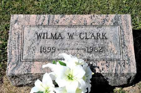 CLARK, WILMA W - Richland County, Ohio   WILMA W CLARK - Ohio Gravestone Photos