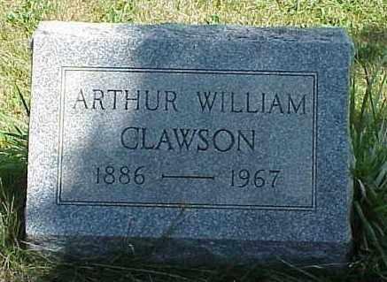 CLAWSON, ARTHUR WILLIAM - Richland County, Ohio | ARTHUR WILLIAM CLAWSON - Ohio Gravestone Photos