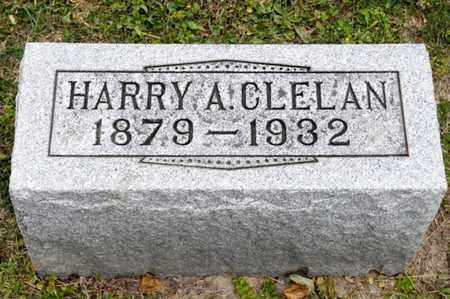 CLELAN, HARRY A - Richland County, Ohio | HARRY A CLELAN - Ohio Gravestone Photos