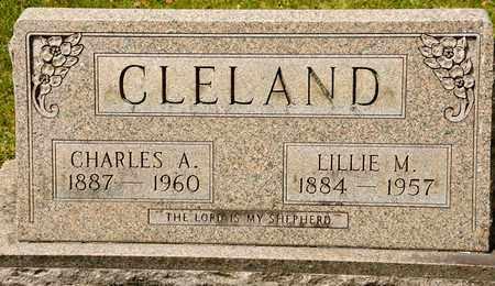 CLELAND, CHARLES A - Richland County, Ohio | CHARLES A CLELAND - Ohio Gravestone Photos