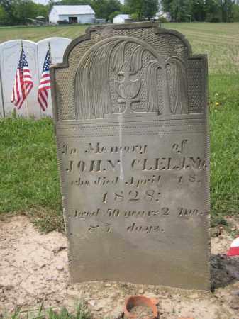 CLELAND, JOHN - Richland County, Ohio   JOHN CLELAND - Ohio Gravestone Photos