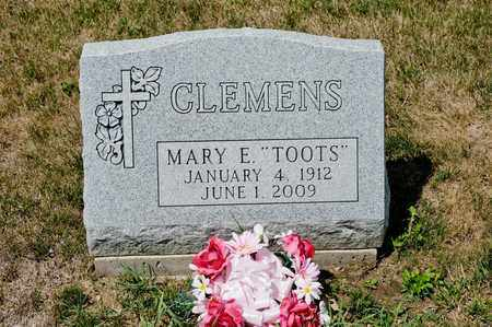 CLEMENS, MARY E - Richland County, Ohio | MARY E CLEMENS - Ohio Gravestone Photos