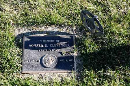 CLEVENGER, DONALD R - Richland County, Ohio | DONALD R CLEVENGER - Ohio Gravestone Photos