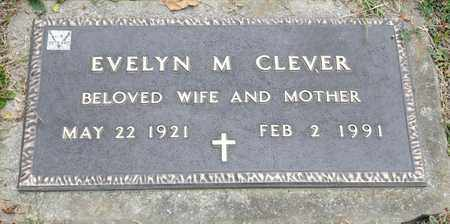 CLEVER, EVELYN M - Richland County, Ohio | EVELYN M CLEVER - Ohio Gravestone Photos