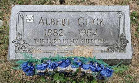 CLICK, ALBERT - Richland County, Ohio   ALBERT CLICK - Ohio Gravestone Photos