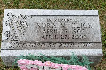 CLICK, NORA M - Richland County, Ohio   NORA M CLICK - Ohio Gravestone Photos