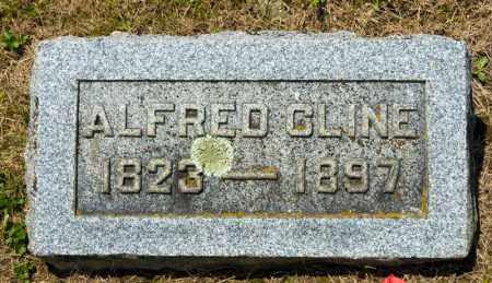 CLINE, ALFRED - Richland County, Ohio | ALFRED CLINE - Ohio Gravestone Photos