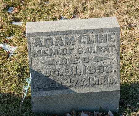 CLINE, ADAM - Richland County, Ohio | ADAM CLINE - Ohio Gravestone Photos