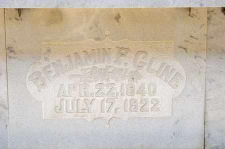 CLINE, BENJAMIN F - Richland County, Ohio | BENJAMIN F CLINE - Ohio Gravestone Photos