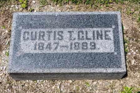 CLINE, CURTIS T - Richland County, Ohio   CURTIS T CLINE - Ohio Gravestone Photos