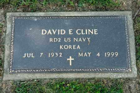 CLINE, DAVID E - Richland County, Ohio | DAVID E CLINE - Ohio Gravestone Photos
