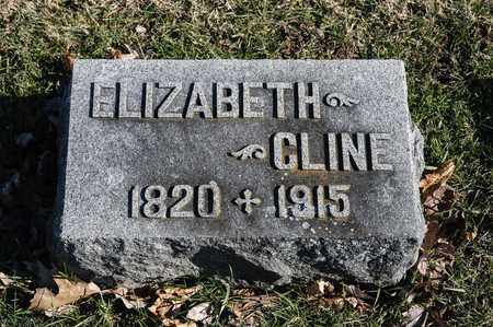 CLINE, ELIZABETH - Richland County, Ohio   ELIZABETH CLINE - Ohio Gravestone Photos