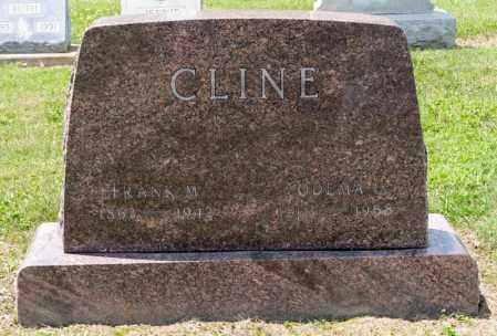 CLINE, FRANK M - Richland County, Ohio | FRANK M CLINE - Ohio Gravestone Photos