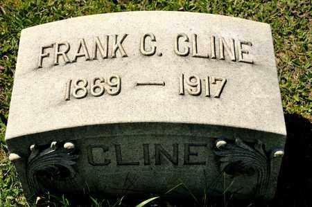 CLINE, FRANK C - Richland County, Ohio | FRANK C CLINE - Ohio Gravestone Photos