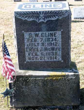 CLINE, EMMA J - Richland County, Ohio | EMMA J CLINE - Ohio Gravestone Photos
