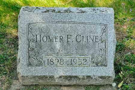 CLINE, HOMER E - Richland County, Ohio | HOMER E CLINE - Ohio Gravestone Photos
