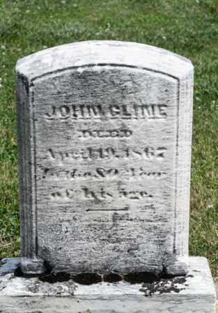CLINE, JOHN - Richland County, Ohio | JOHN CLINE - Ohio Gravestone Photos