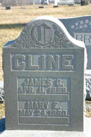 CLINE, MARY E - Richland County, Ohio | MARY E CLINE - Ohio Gravestone Photos