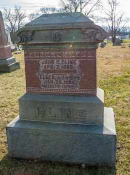 CLINE, JOHN C - Richland County, Ohio | JOHN C CLINE - Ohio Gravestone Photos