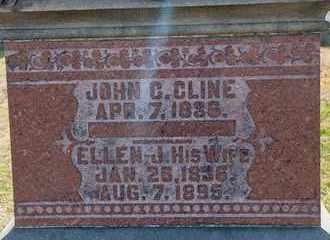 CLINE, ELLEN J - Richland County, Ohio   ELLEN J CLINE - Ohio Gravestone Photos