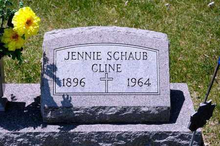 CLINE, JENNIE - Richland County, Ohio | JENNIE CLINE - Ohio Gravestone Photos