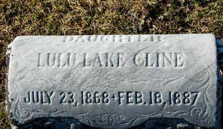CLINE, LULU LAKE - Richland County, Ohio | LULU LAKE CLINE - Ohio Gravestone Photos