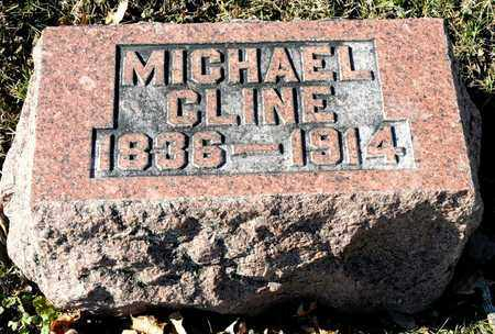CLINE, MICHAEL - Richland County, Ohio | MICHAEL CLINE - Ohio Gravestone Photos