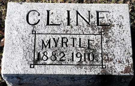CLINE, MYRTLE - Richland County, Ohio | MYRTLE CLINE - Ohio Gravestone Photos