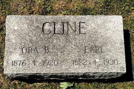CLINE, ORA B - Richland County, Ohio | ORA B CLINE - Ohio Gravestone Photos