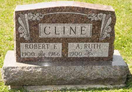 CLINE, ROBERT F - Richland County, Ohio | ROBERT F CLINE - Ohio Gravestone Photos