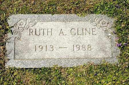 CLINE, RUTH A - Richland County, Ohio   RUTH A CLINE - Ohio Gravestone Photos