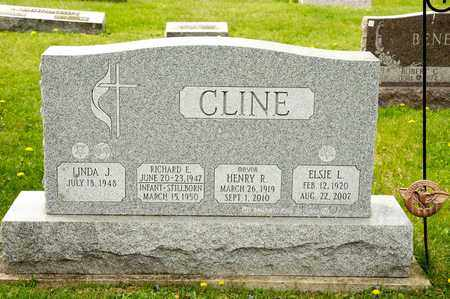CLINE, RICHARD E - Richland County, Ohio | RICHARD E CLINE - Ohio Gravestone Photos